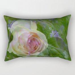 little rose Rectangular Pillow