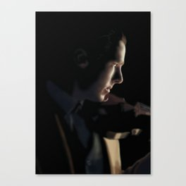 Sherlock - The Abominable Bride Canvas Print