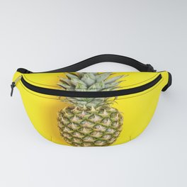 Pineapple on yellow background Fanny Pack