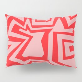 Ice Pink - Coral Reef Series 011 Pillow Sham