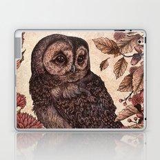 Tawny Owl Pink Laptop & iPad Skin