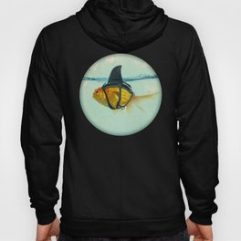 Brilliant DISGUISE - Goldfish with a Shark Fin Hoody