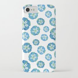 Blue Sand Dollars iPhone Case