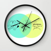 math Wall Clocks featuring Math by tenso GRAPHICS