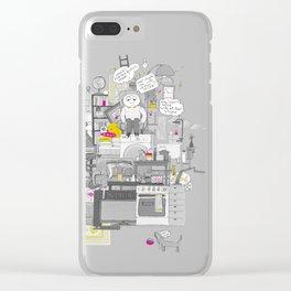 Crap Stuff Clear iPhone Case