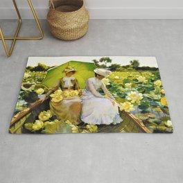 Lotus Lilies - Digital Remastered Edition Rug