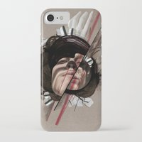 helen green iPhone & iPod Cases featuring HELEN by CABINET
