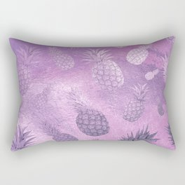 Ananas Fruit Pattern 3 Rectangular Pillow