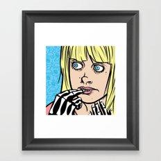 Steph / The First Framed Art Print