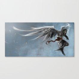 Winged monkey Canvas Print