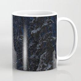 A December Night Snowfall Coffee Mug