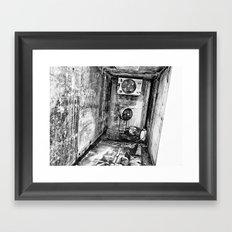 A Fully Furnished Bedroom Framed Art Print