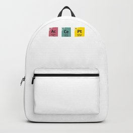 Accept People For Who They are | Periodic Table Backpack