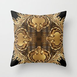 Alligator Panel Throw Pillow