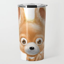 Super cute baby fox kawaii perfect for all animal lovers! Travel Mug