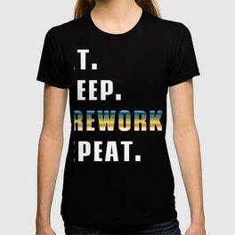 Eat Sleep Fireworks Repeat Happy New Year 2020 January 1st Fireworks Merry Christmas Xmas T-shirt T-shirt
