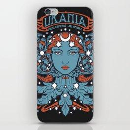 URANIA Per Aspera Ad Astra iPhone Skin