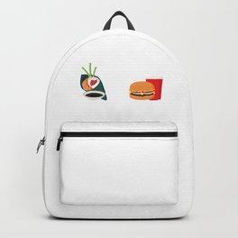 Sushi vs Fastfood Backpack