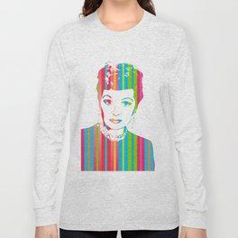 Lucille Ball   Pop Art Long Sleeve T-shirt
