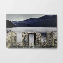 Kaslo Graffiti Metal Print