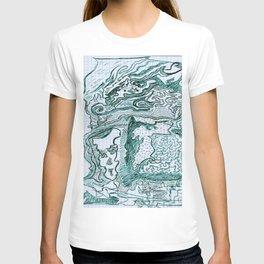 Encre vert T-shirt