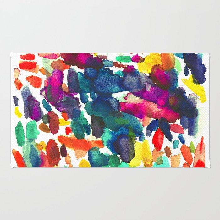 watercolor color study vol 2 Rug