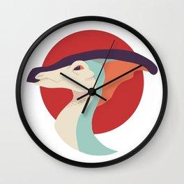 Parasaurolophus (Retro) Wall Clock