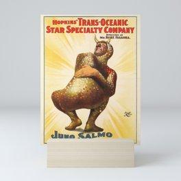 vintage hopkins trans oceanic star specilty Mini Art Print