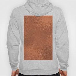 Simply Metallic in Deep Copper Hoody