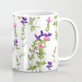 Salvia viridis blossom Coffee Mug