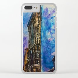 23 Skidoo Clear iPhone Case
