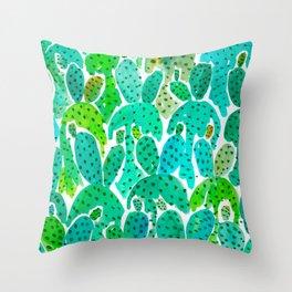 Cactus Practice Throw Pillow