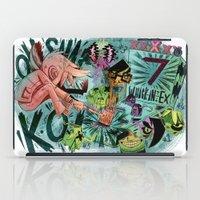 scott pilgrim iPad Cases featuring Scott Pilgrim, Fan Art by James Burlinson