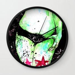 Bushy Bomb! Wall Clock