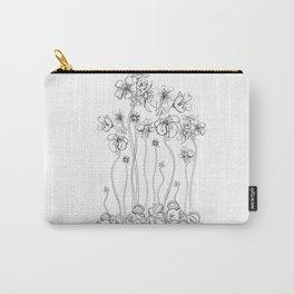 Floral Flytraps Carry-All Pouch