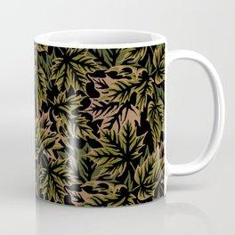 Leaves - dull green Coffee Mug
