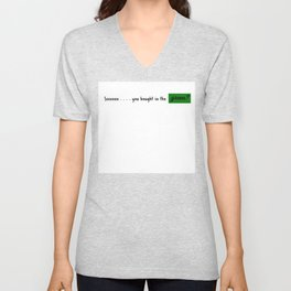 Soooooo . . . you bought in the green? | HODL Collection 2020 Unisex V-Neck
