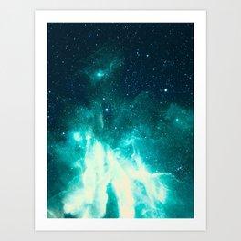 Spirit Nebula Art Print