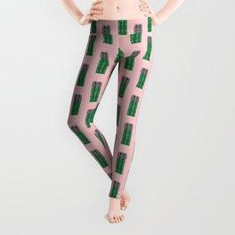 Vegetable: Asparagus Leggings
