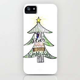 Christmas in Texas iPhone Case