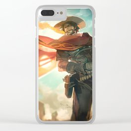 McCree Clear iPhone Case