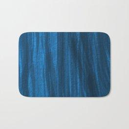 Dark Blue Falling Bath Mat