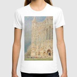 Salisbury Cathedral, English Landscape by Albert Goodwin T-shirt