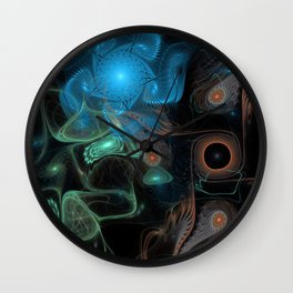 Galatic Sushi Wall Clock