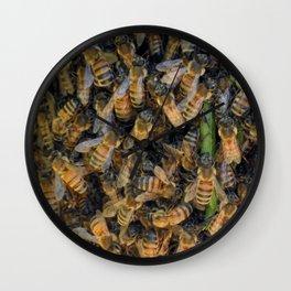 Beautiful Bees Wall Clock