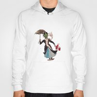 mary poppins Hoodies featuring Zombie Mary Poppins by Brendan Purchase