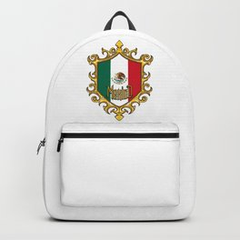 Mexico Flag - Mexican Emblem - Hecho En Mexico Backpack