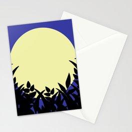 Full moon magic night Stationery Cards