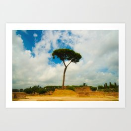 Rome. Art Print