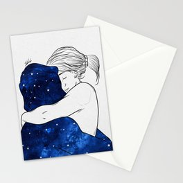 Deep happiness. Stationery Cards